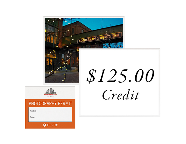 Distillery Photo Permit + $125 Credit