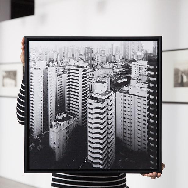 Framed Canvas Wrap