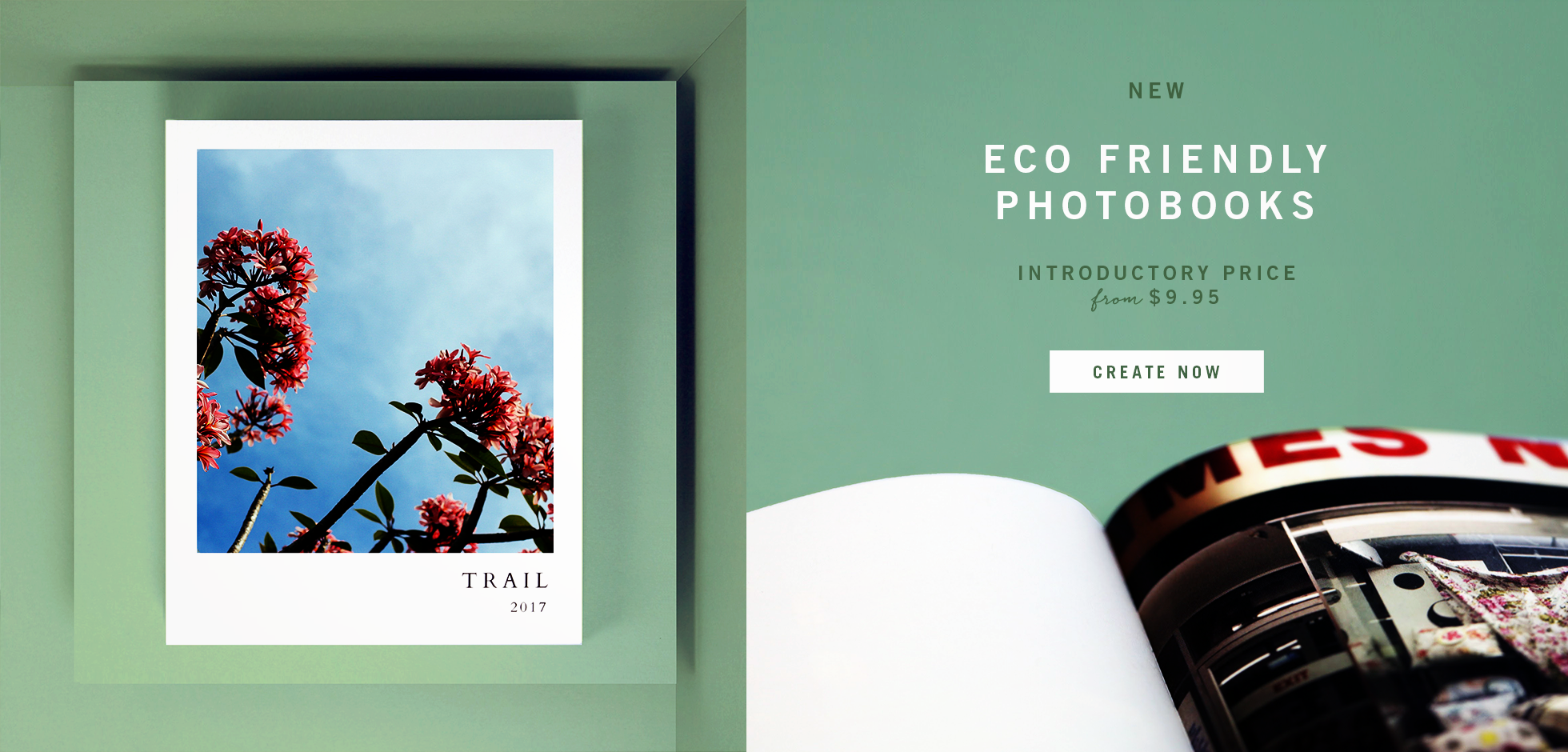 eco friendly photobook