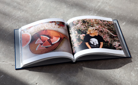 Photo book with 100% Recycled paper